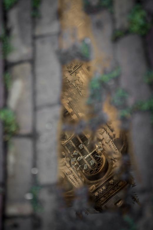 Gouden uurwerk -