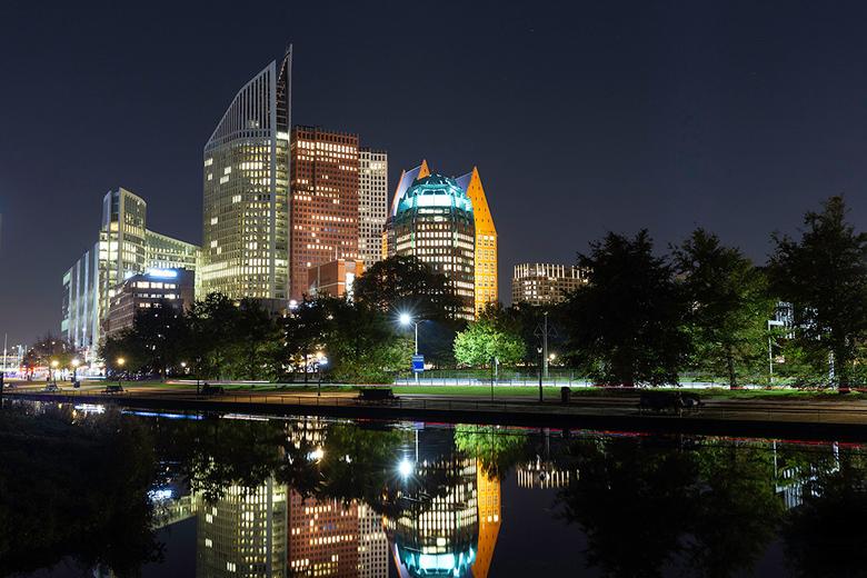 Skyline Den Haag - De foto zal zeker meerdere keren al voorbij gekomen zijn, maar vind de compositie zelf wel goed geslaagd.