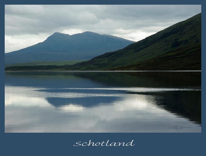 Schotland - Nog een foto uit het prachtige schotland. Een van de vele Lochs.