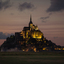 Mont Saint-Michel at dusk