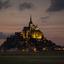Mont Saint-Michel at dusk