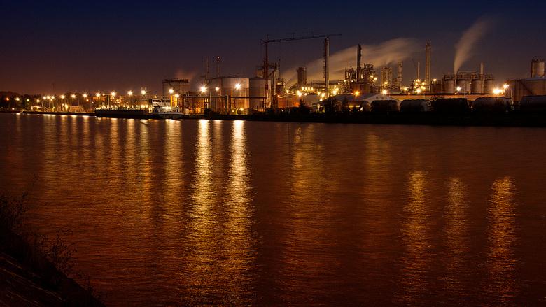 Industrieel landschap - Onderdeel van de opdracht 'Industrieel landschap'