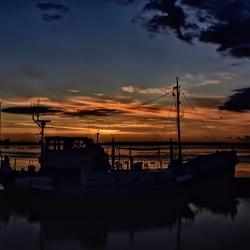 Ameland, zonsopkomst