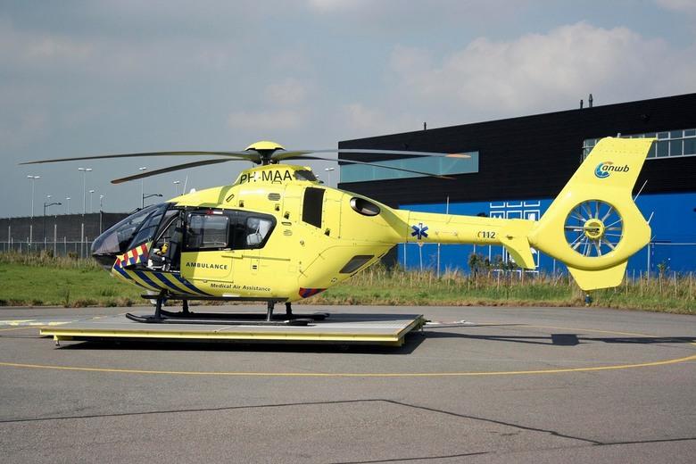Traumahelikopter - Deze foto heeft een bijzondere betekenis voor mij [ons]. Deze heb ik gemaakt in september 2012 op de basis van de MMT [Mobiel Medis