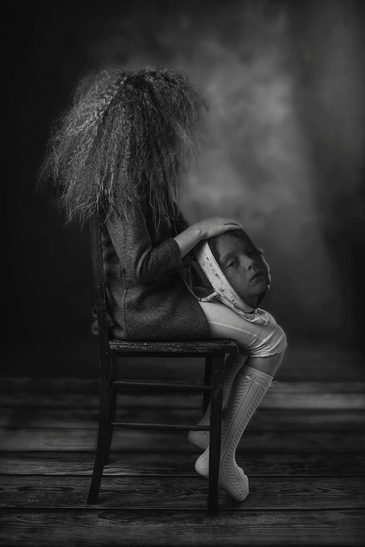 The mask - Winner Child Photo Competition 2016