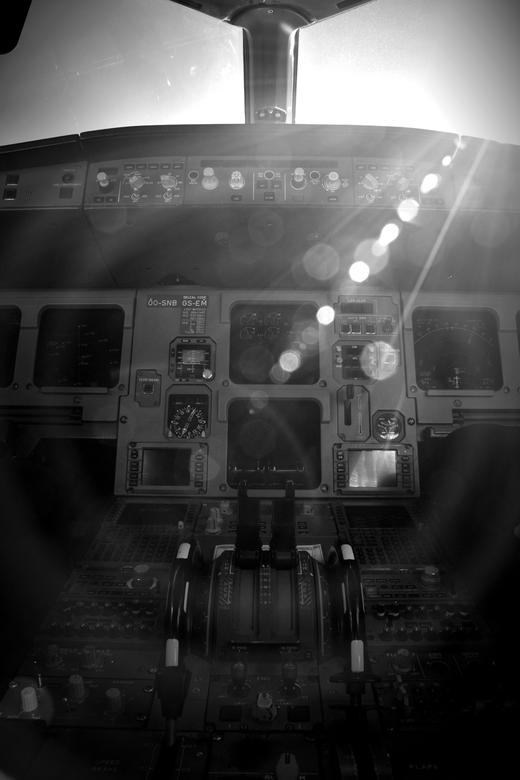 Sunny cockpit