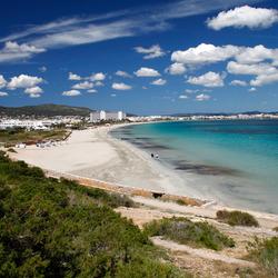 strand Playa d' en Bossa Ibiza
