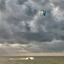 Kite surfen op het IJsselmeer
