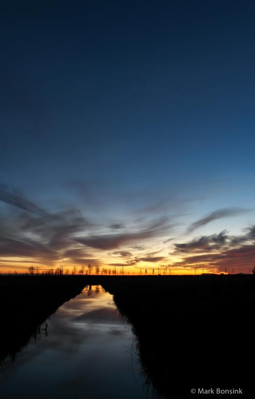 Sunset zwartedijk