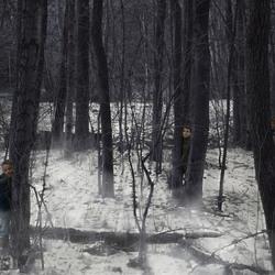 5 kids in de mist