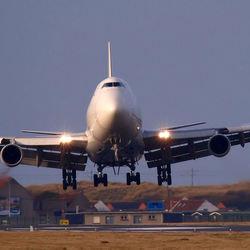 landing met crosswind
