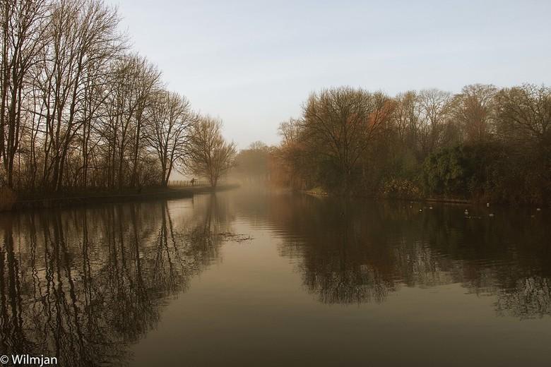 Snoeken langs de IJzeren Rijn - Foto is gemaakt net onder Bunnik toen ik wandeltocht maakte langs de IJzeren Rijn. Was een prachtige en nevelachtige o