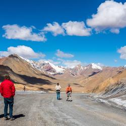 Okbaital pass Tadzjikistan