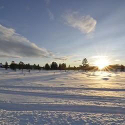 Winter in Rondane Noorwegen