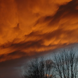 Fire in the sky?