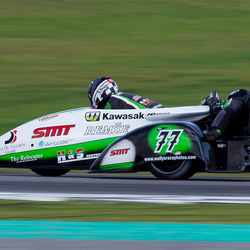 Gamma Racing Day 2014 - Side-car action