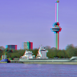 Euromast Rotterdam 3D hyper-stereo
