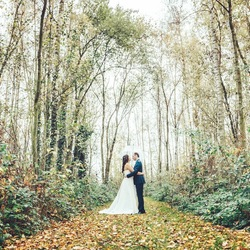 Romance in forestland.