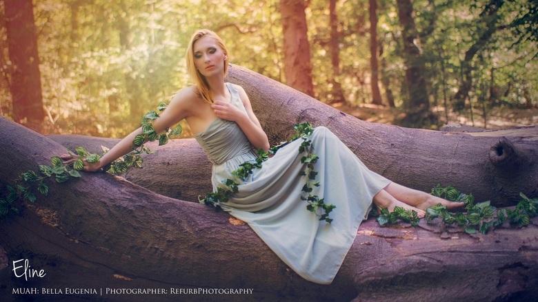 Nature got a nice grip - Model: Eline (Dina Hoek)<br /> Muah: Bella Eugenia<br /> Photography: RefurbPhotography