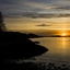 a sunset end!