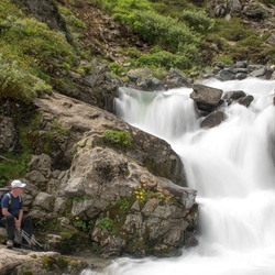 Waterval Silvretta Staussee
