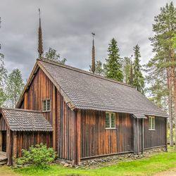 Paalkerkje in Sydankyla - Finland