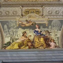 Schildering in het Vaticaanse Museum
