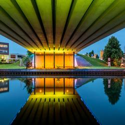 Under the bridge,.....Gorinchem