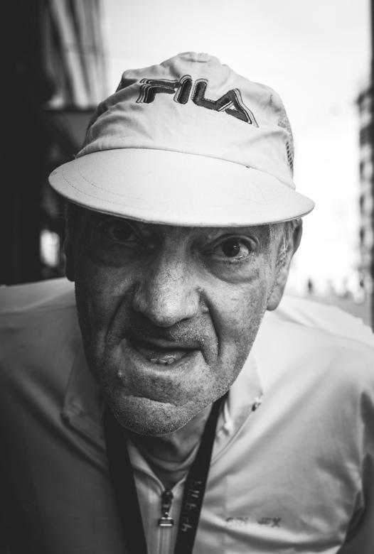 portrait - old man.