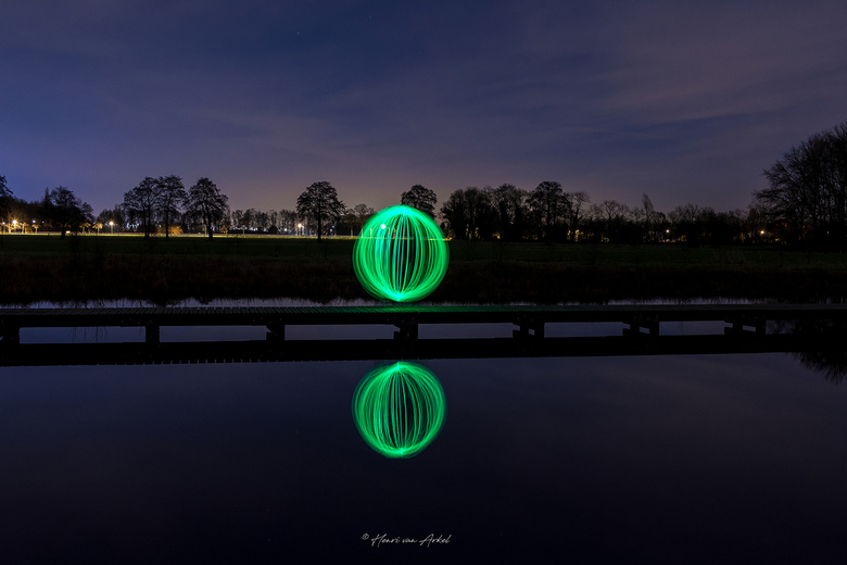 Lightpainting Ball -
