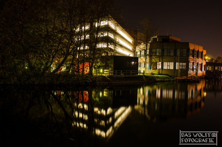 Spiegelbeeld - Willemsvaart in Zwolle