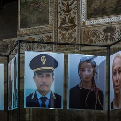 Foto's in het Palazzo Vecchio in Florence
