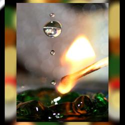 Rook Vuur en water