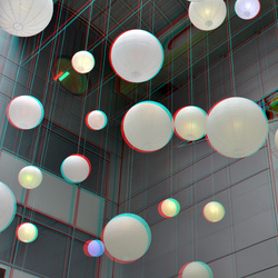 Lamps Central Plaza Weena Rotterdam 3D