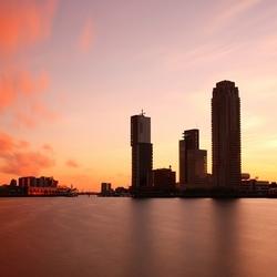 Rijnhaven sunset