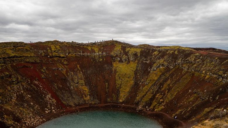 Kerid krater -