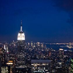 NY vanaf Rockefeller
