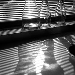 Schaduwspel en weerspiegeling