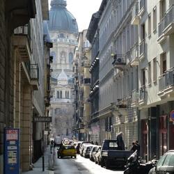Boedapest - St Stefanusbasiliek.