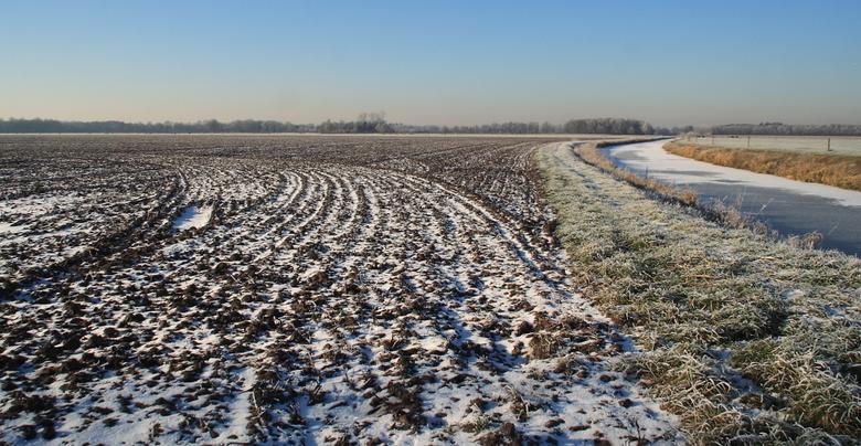 Winterse lijnen - Langs de Meeuwenweg (Reestdal)