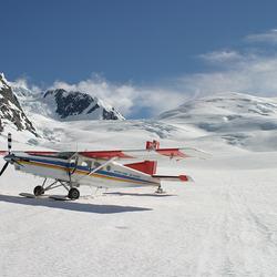 Gletcher landing