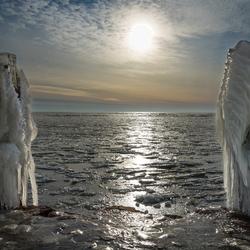 Afsluitdijk in winterse sferen 4