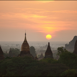 Sunrise bagan