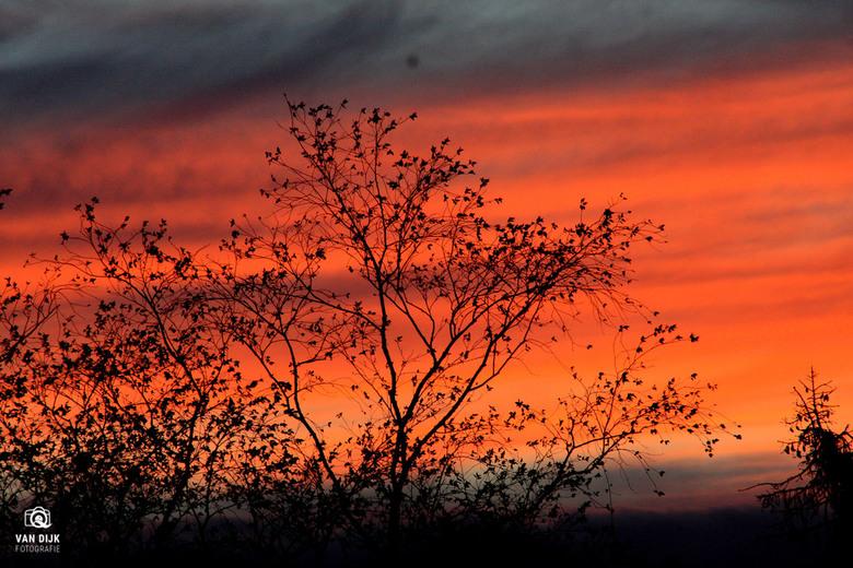 zonsondergang - Kleur volle avond...
