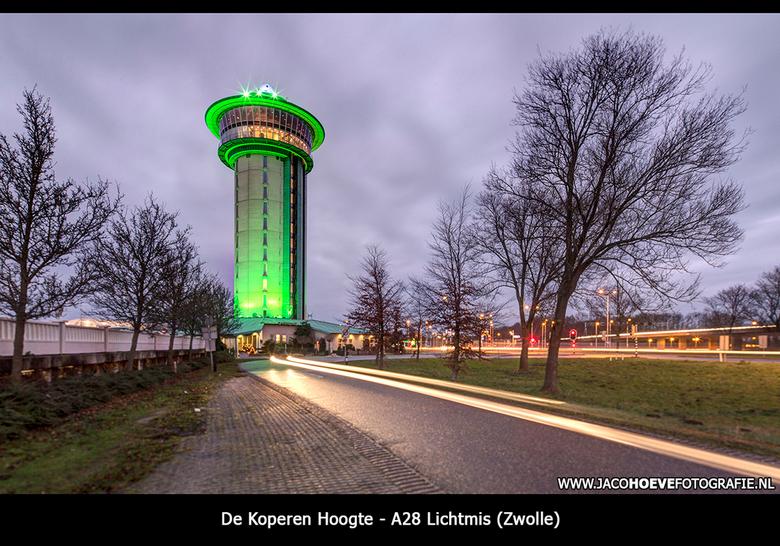 De Koperen Hoogte - Nachtfotografie bij de Koperen Hoogte blijft altijd mooi!
