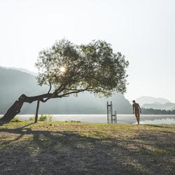 Walks around Boracko Jezero.