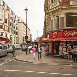 Londen - Shaftesbury Avenue - Macclesfield St