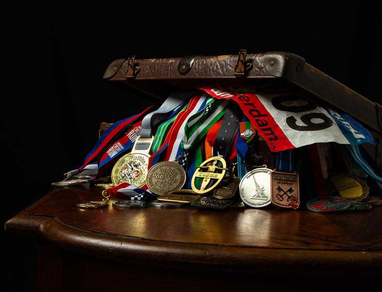 Victory forgotten - Kleurrijke herinneringen aan sportieve uitdagingen en ieder keer een overwinning.......op mezelf.