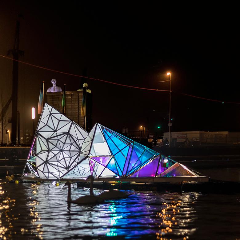 Infinita, light show Amsterdam 2018