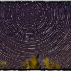 draaiende sterrenhemel
